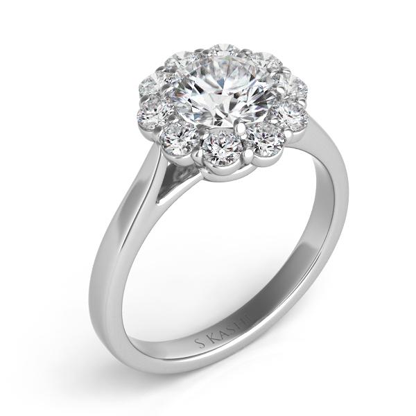 classic engagement rings joe kassab jewelers - Classic Wedding Rings